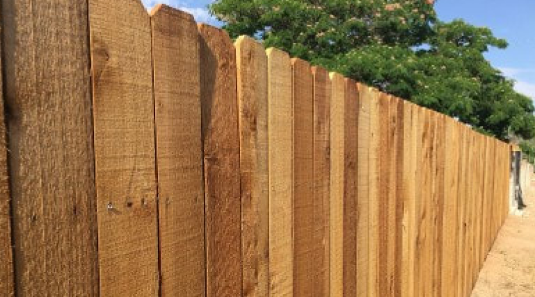 Wood fences are very popular in Abilene. Wood fencing is great because it adds privacy, security, and value to any property. There are a lot of customizable options with wooden fences. You can paint or stain fencing for any look as well. Get a wood fence installed on your property!